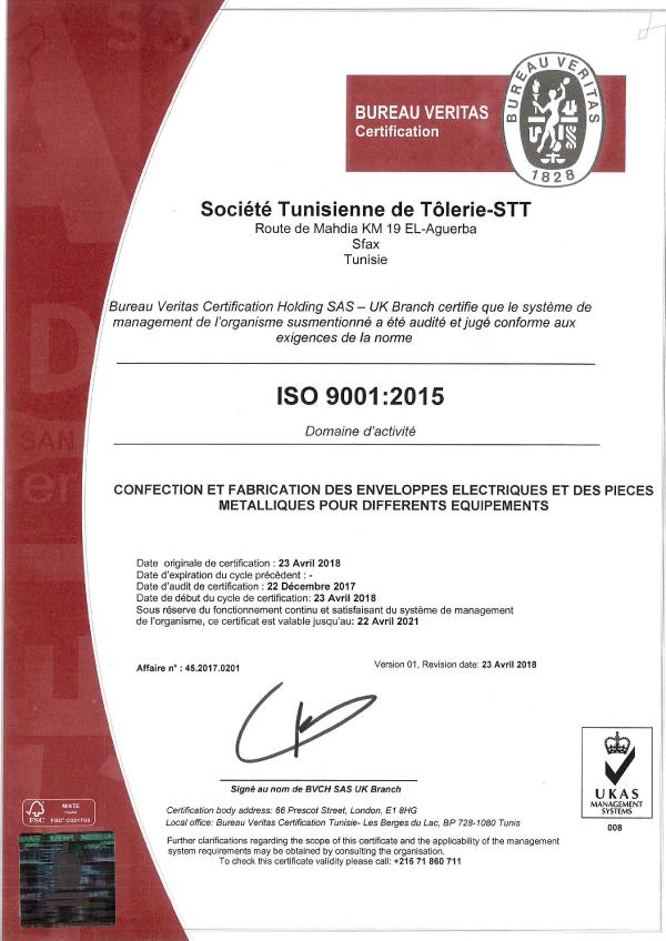 STT IS09001